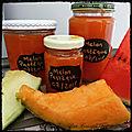 Confiture Pastèque 🍉 & 2 Melons 🍈