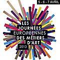 les <b>journées</b> européennes des <b>métiers</b> <b>d</b>'<b>art</b> - 5 au 7 avril 2013 - Avranches (50)