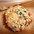 Galette de cereales sans beurre, sans sucre, sans lait, sans farine et sans oeufs
