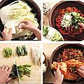 Kimchi traditionel préparation
