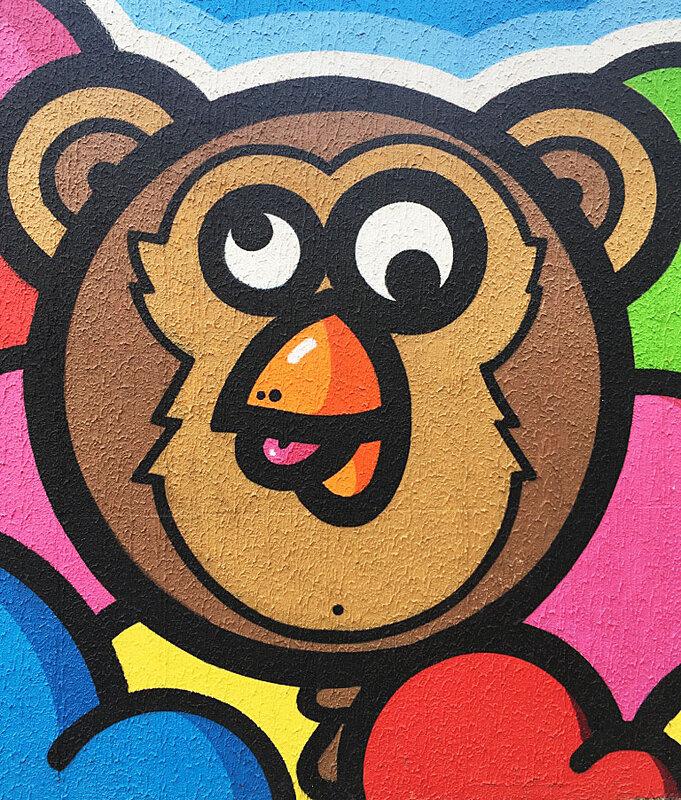 birdy-kids-singe-street-art-birdy-ma-rue-bric-a-brac