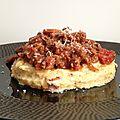 Polenta con sugo di carne (polenta et sauce à la viande)