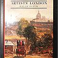 Artists' <b>London</b> - David Piper
