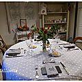 Table d'hôtes à la gallinette