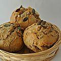 Petits pains <b>complets</b> aux graines express