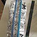 <b>Trousse</b> d'écolier à double compartiment tissu Totoro