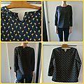 La blouse stockholm de l'atelier scammit
