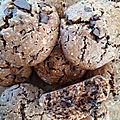 Cookies chocolat beurre de cacahuètes