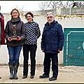 Trophée henri fanton 2017 à charlotte et quinquin yonnet par le club taurin palmas y pitos