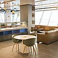 Découvrez le nouveau alaska lounge d'alaska airlines à new york jfk!