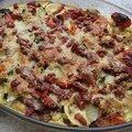 Clafoutis de legumes au parmesan