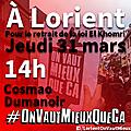 Manifestons le 31 mars