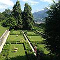 Jardin de JJ Rousseau aux Charmettes (Chambéry)