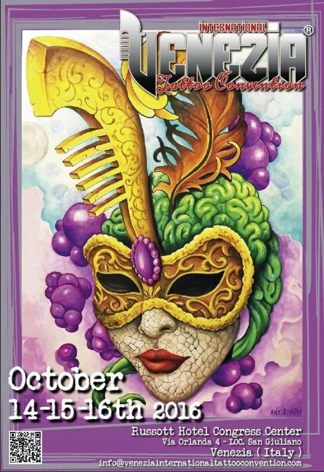 Venezia Convention internationale de tatouage 14 - 16 Octobre 2016