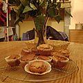 Des cupcakes au chocolat milka éclat de daim!!!