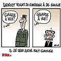 De Gaulle - Sarkozy