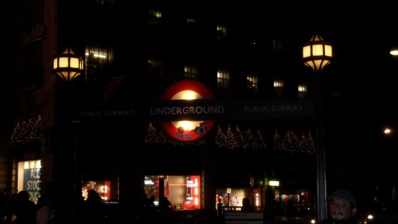 London Underground : station Piccadilly