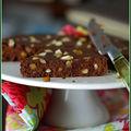 Moelleux au chocolat <b>sans</b> <b>beurre</b> de L. Salomon avec un zeste d'orange et d'amande