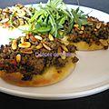 Pizzas libanaises à la viande (lahm bi ajin)