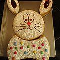 Mon gâteau de pâques cette année
