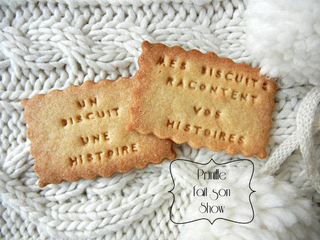 Créez vos biscuits personnalisés ...