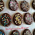 Biscuits de pâques chocolat cannelle