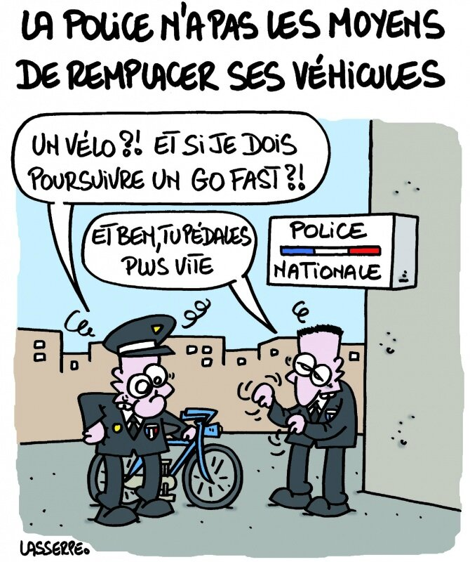 ps ump police securite racaille humour