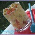 Salade de pommes de terre aux noix et au curry