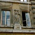 Fluctuat nec mergitur, détail de la fontaine rue Saint-Honoré.