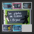 Assortiments album photos de classe