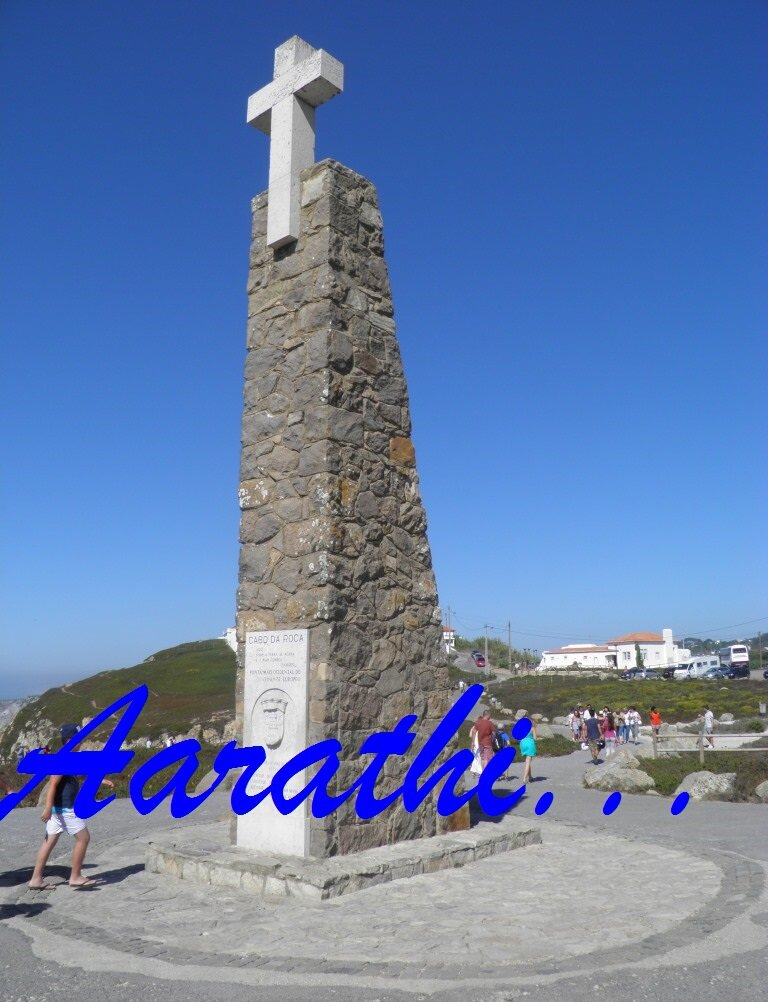 Crucifix Monument at Cabo Da Roca