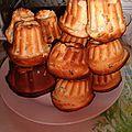 Briochettes facon kouglof