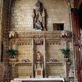 Fougères (35) Eglise Saint Sulpice, autel de Notre Dame des Mara