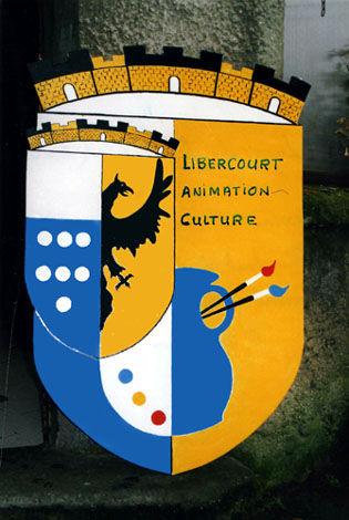 Logo réalisé par le président en 2002