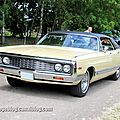 Chrysler new yorker hardtop sedan de 1970 (retro meus auto madine 2012)