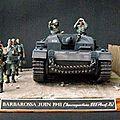 WW II Allemand : Guerre à l'est (7 dioramas)