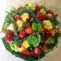 Bouquet rond avec Pommes et Choux
