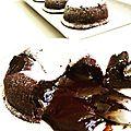 Coulant au chocolat