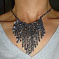 d) Swarovski - Collier, Sautoir / Swarovki Necklace