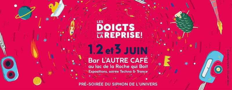 Les Doigts dans la Reprise_before_festival_électro_L'Autre Café_2018_juin