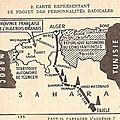 Partition de l'Algérie 1957-1961