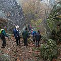 Randonnée du mardi 07 novembre après-midi - Balade autour du Ray de <b>L</b>'<b>Orme</b>.