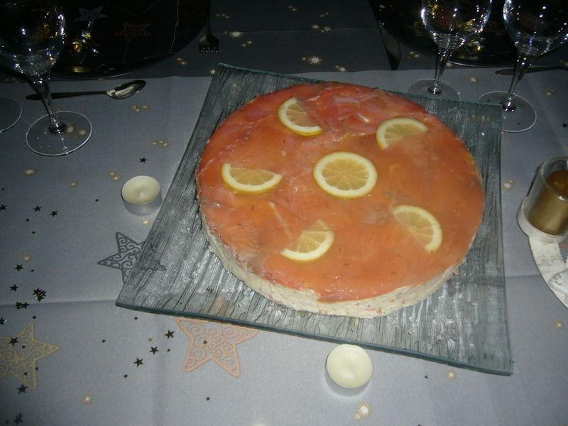 L Internaute Cake Au Saumon Et Au Citron