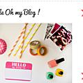 Pour les passionné(e)s de blogging : oh my blog !