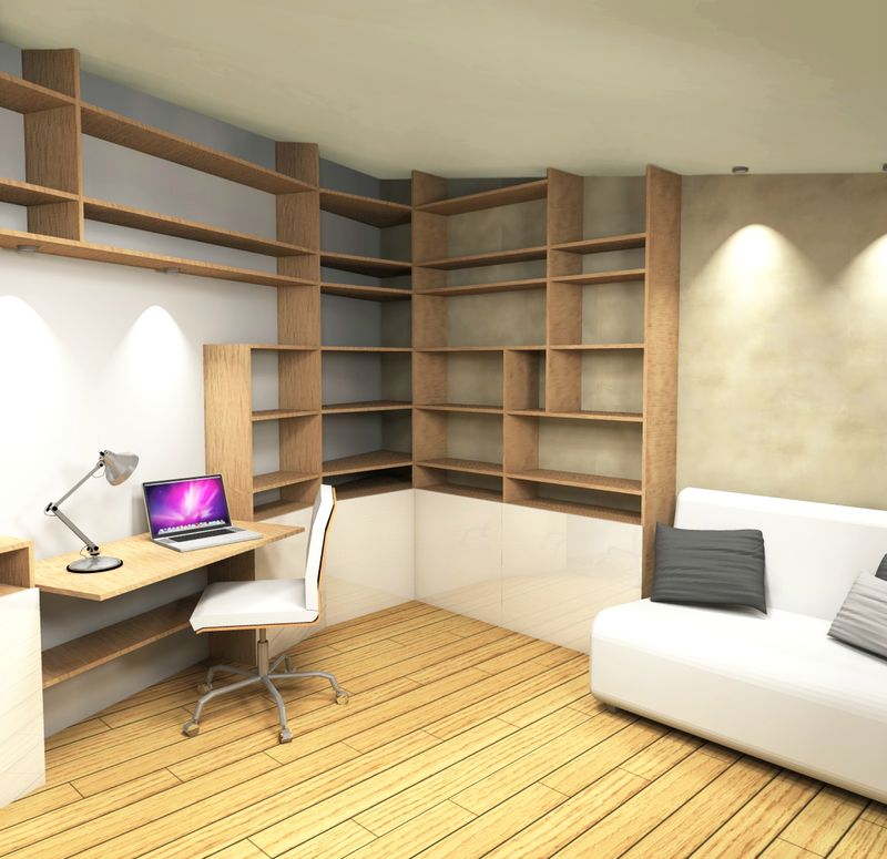 Conception espace bureau chambre ami stinside - Loft salon de provence ...