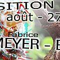 <b>FABRICE</b> <b>ENTEMEYER</b> : EXPOSITION à la rentrée 2013 en ARGONNE