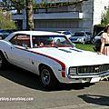 Chevrolet camaro SS hardtop coupe de 1969 (Retrorencard avril 2012) 01