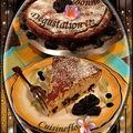 Tarte au fromage blanc et aux pruneaux !!!