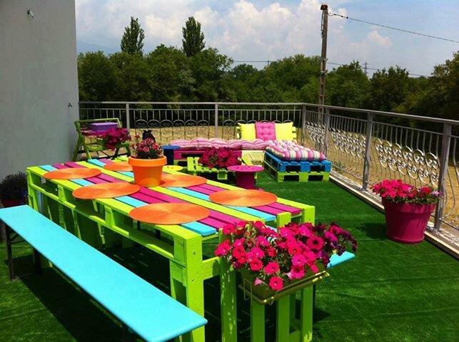 deux salons de jardin très récup - C\'EST MOI QUI L\'AI FAIT (en cours ...