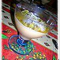 Blanc-manger coco/ kiwi